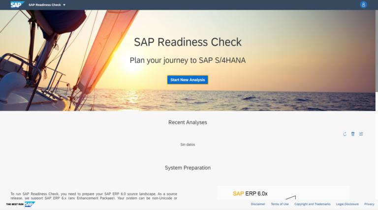 sap readiness check